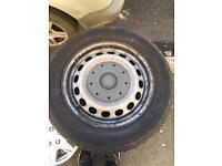Vw caddy genuine wheels
