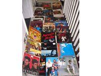 job lot 33x VINYL 12'' GREATEST HITS 70s & 80s RECORDS Sade Wham Lionel Richie