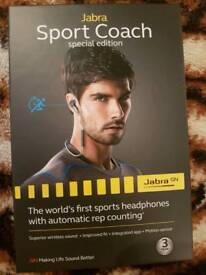 Jabra Sport Coach Wireless In Ear Headphones - Blue