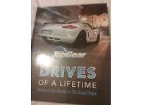 Top Gear drive of a lifetime hardback book. Brand new rrp £25