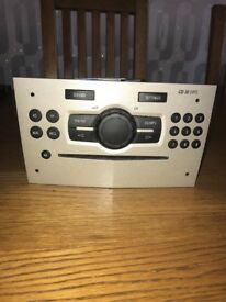 Vauxhall Corsa CD30 car stereo