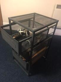 Metal drawer £8