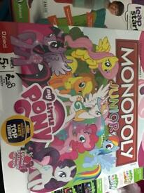 Polish version of my little pony monopoly