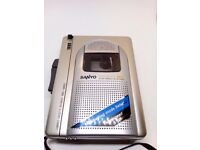 Sanyo TRC-960C Standard Cassette Compact Voice Recorder Dictaphone Dictation -NEW