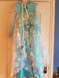 Disney princess Elsa dress and shoes