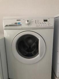 Zanussi white washing machine 6kg 1600spin rpm