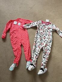2 brand new carters onesies