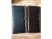Purple and Black Wallets