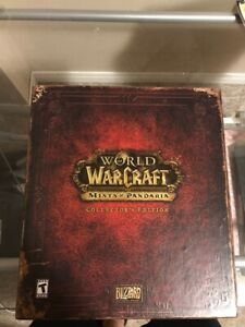 World of Warcraft : mists of pandaria collectors edition