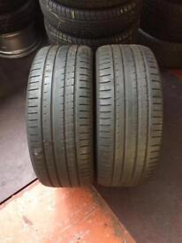 2 PW 255 55 18(109Y) Pirelli P Zero Rosso NO Tread 4.5mm-5.5mm