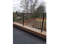 Metal gates,railing, beams etc