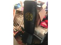 Golds adjustable weight bench