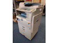 Ricoh Aficio MP C2051 Ledger/Tabloid-size Color Laser Copier Printer Scanner