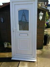 Front door size 92 cm 207 cm