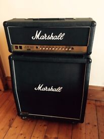Marshall JCM 900 100 watt valve amplifier and 1960A 4x12 Cabinet