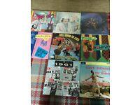 60s ROCK POP vinyl records job lot