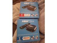 Now tv boxes with pass