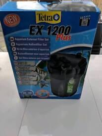 Tetra Tetratec ex1200 plus external aquarium canister filter