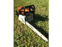 "Nearly New Stihl MS180 14"" Chainsaw"