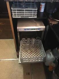 Cleanaware glass washer