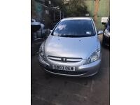 Peugeot 307, Engine 1.6, Year 2003