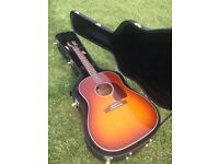 Gibson USA Custom Shop J45 Acoustic Limited Edition Ice Tea TRADE SWAP PX Martin Taylor