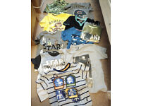 Bundle of clothes for Boy 5-6 years incl. Star Wars, in new, very good and good condition.