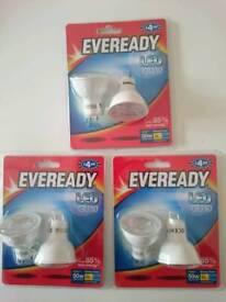 Gu10 led spot light bulbs