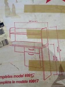 meuble de bureau retour d'extrémité