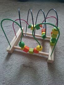 MULA Bead roller coaster