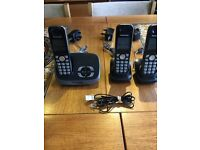 Cordless Telephones and answer machine.