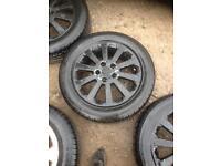 Vauxhall 5 stud alloy wheels