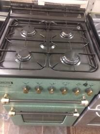 Green leisure 55cm gas cooker grill & oven good condition with guarantee