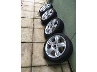 Mini Cooper s R53 alloy wheels