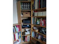Ikea Billy Bookcase - Corner Shelving Unit in Birch