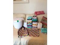 4.0 Bumgenius nappies bundle perfect starter kit