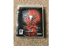 PS3 Spider-Man 3 Game
