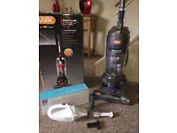 VAX Mach Air Force 2 bagless upright with free hand held vacuum