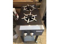 Cooker 2 Burner Commercial Restaurant