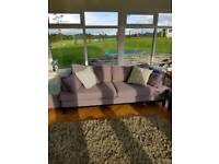 Grey French Connection Home 4 seat sofa