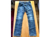 Boys jeans from NEXT, good condition, age 12. Adjustable waist.