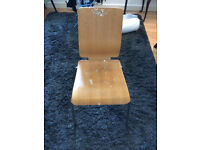Ikea dining room chair with paint stains - free to collect