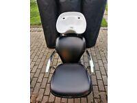 Backwash chair