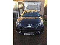 PEUGEOT 207, ONLY 37,000 MILES!! QUICK SALE!!!