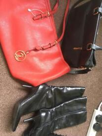 Bags and boots