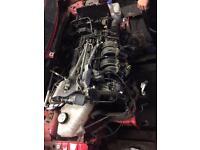 FORD FIESTA 1.4 EDGE ENGINE&GEARBOX