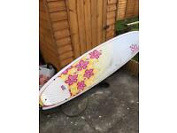 Surf Betty Women's Surfboard 7ft 6 inches