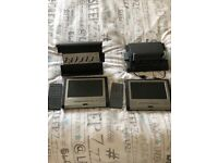 Audi Q7 DVD Entertainment System with remote and Audi Q7 seat fittings