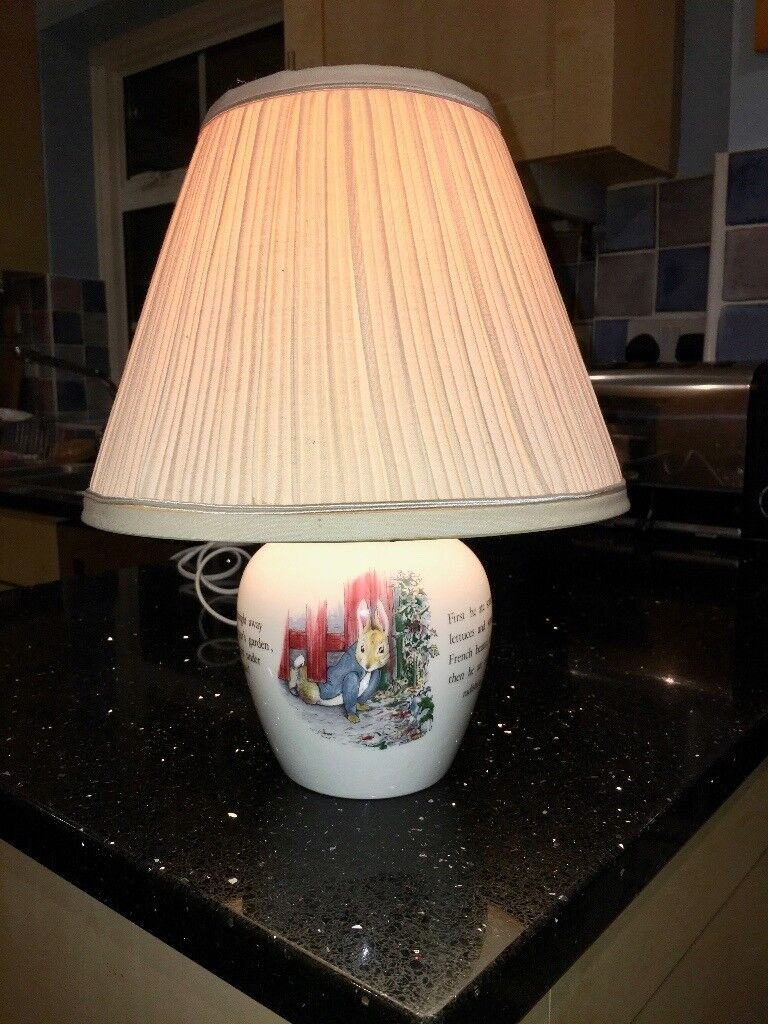 Vintage original royal doulton beatrix potter bunnykins lamp in vintage original royal doulton beatrix potter bunnykins lamp sciox Image collections