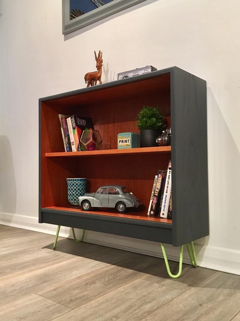 G Plan Vintage Retro Teak Display Unit Book Case Drinks Cabinet